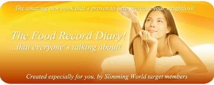 Slimming World Diary Buy Food Record Purchase Food Diary
